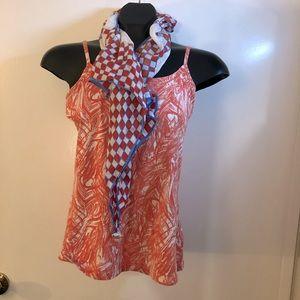 SALE ‼️7 items for $25‼️ Silk Scarf & Top Bundle